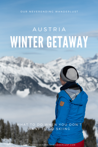 Our neverendng wanderlust Austria wintergetaway